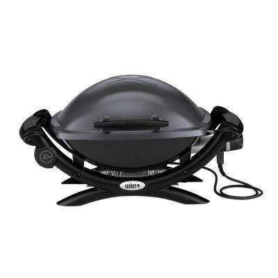 Q 2400 1-Burner Portable Electric Grill in Gray