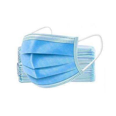3-Ply Disposable Face Masks (50-pack)