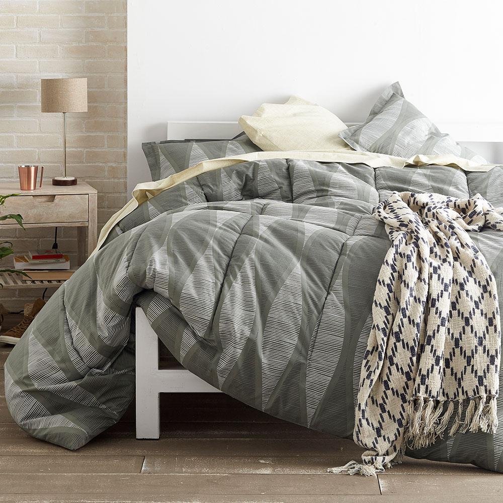 Facade Gray Comforter Set
