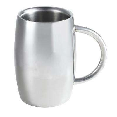 Emerald 14 oz. Stainless Steel Double Walled Beer Mug