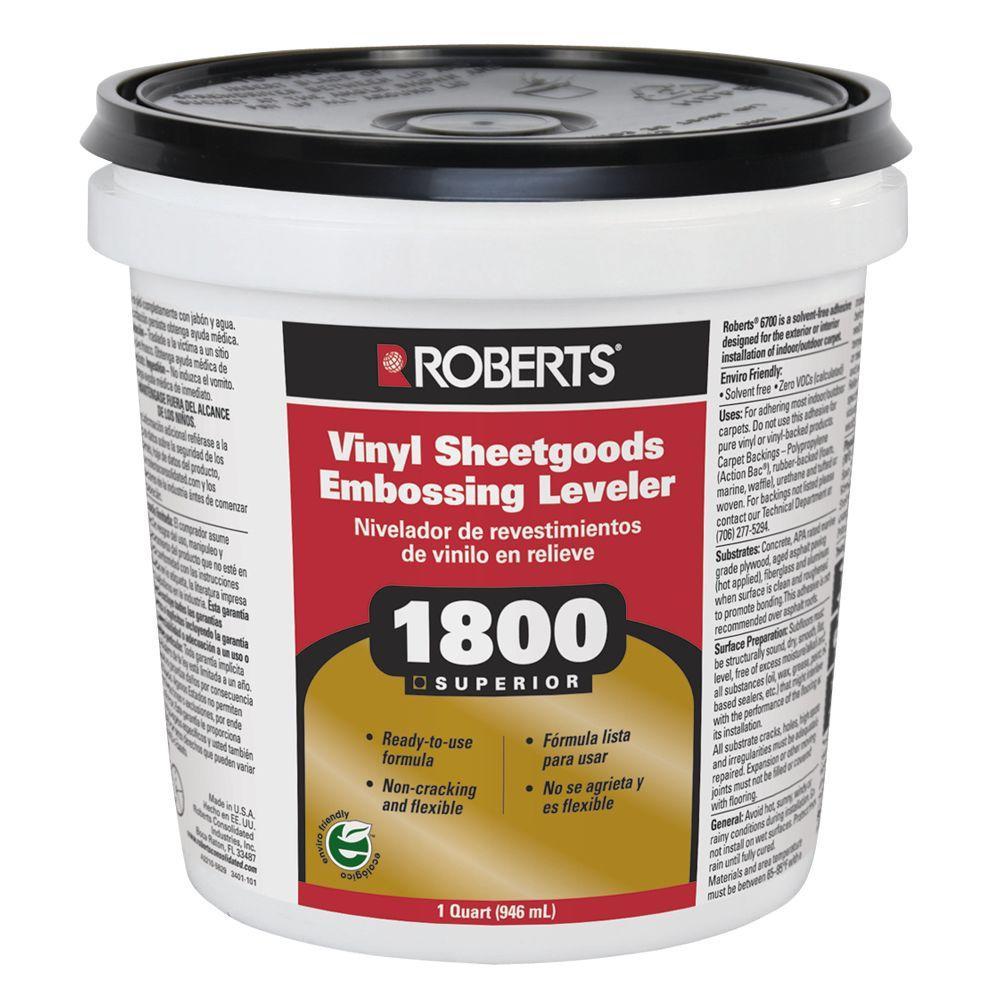 Roberts 1-qt. Vinyl Sheetgoods Embossing Leveler