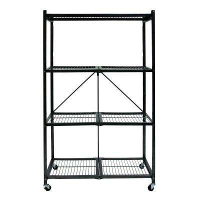 61 in. x 21.64 in. x 4.13 in. General Purpose Folding Metal Shelf