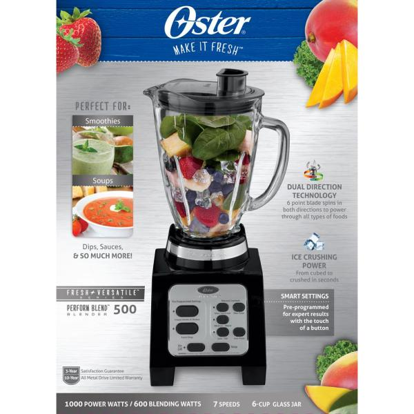 Small Kitchen Appliances Blenders 7 Speed Fusion Blender