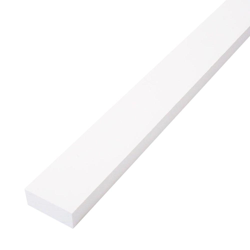 CMPC 1 in. x 2 in. x 8 ft. Primed Finger-Joint Pine Trim Board (Actual Size: 0.719 in. x 1.5 in. x 96 in.) (15-Piece per Box)