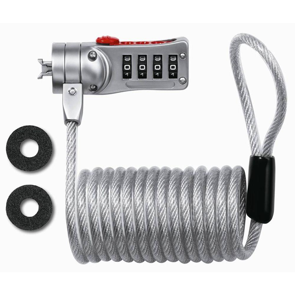 Master Lock 6 ft. Set Your Own Combination Laptop Security Cable