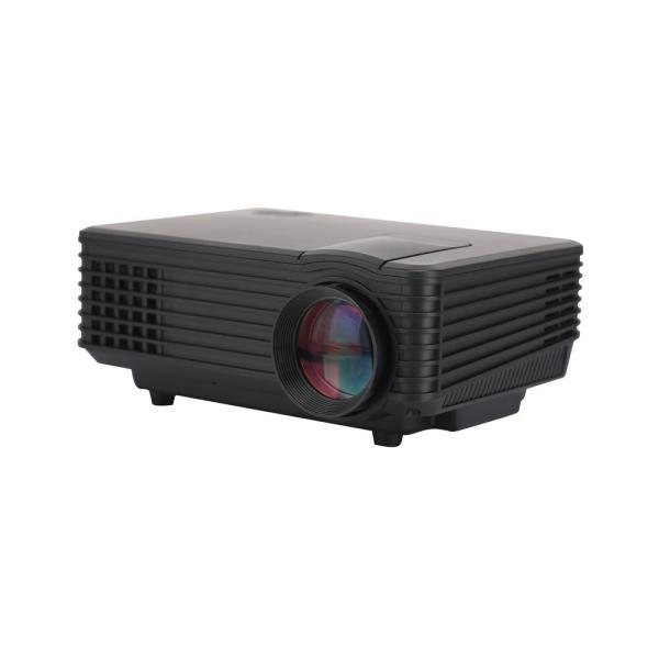800 x 480 LCD Mini Projector with 800-Lumens