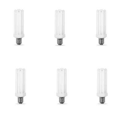 300W Equivalent Daylight (6500K) PL Mogul CFL Replacement Light Bulb (6-Pack)