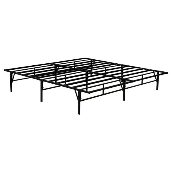 Kings Brand Furniture Mattress Foundation King Metal Platform Bed Frame K9301B
