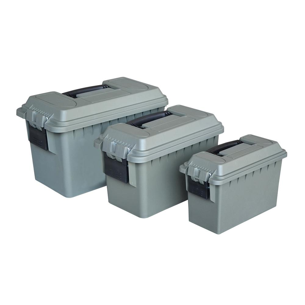 MAGNUM Heavy Duty Poly Plastic Nested Ammo Box Set 3 Piece 10126