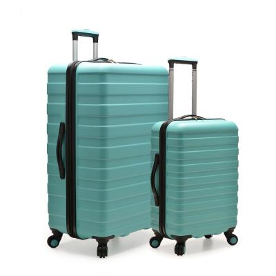 Cypress Colorful 2-Piece Mint Small and Large Hardside Spinner Luggage Set