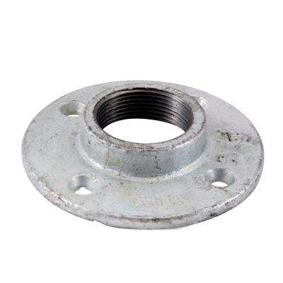 1-1/2 in. Galvanized Iron Floor Flange