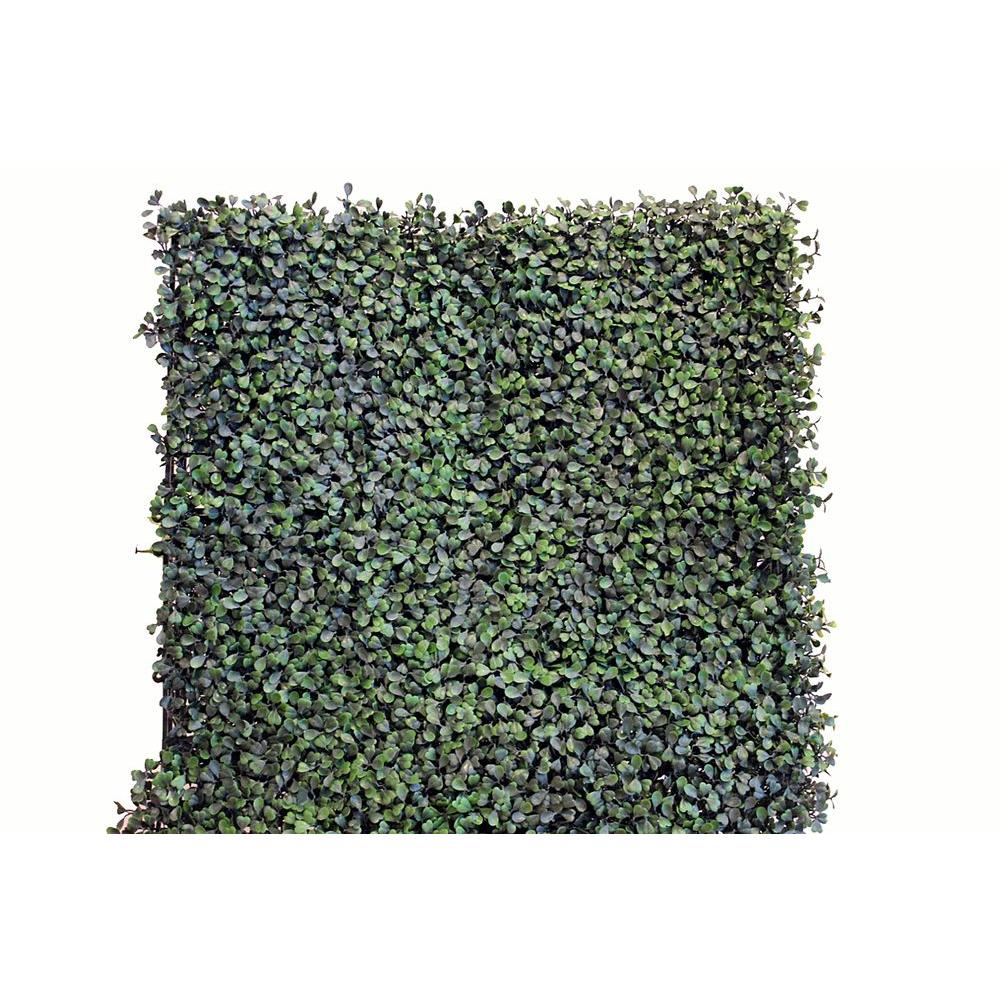 20 in. x 20 in. Artificial Ficus Wall Panels (Set of