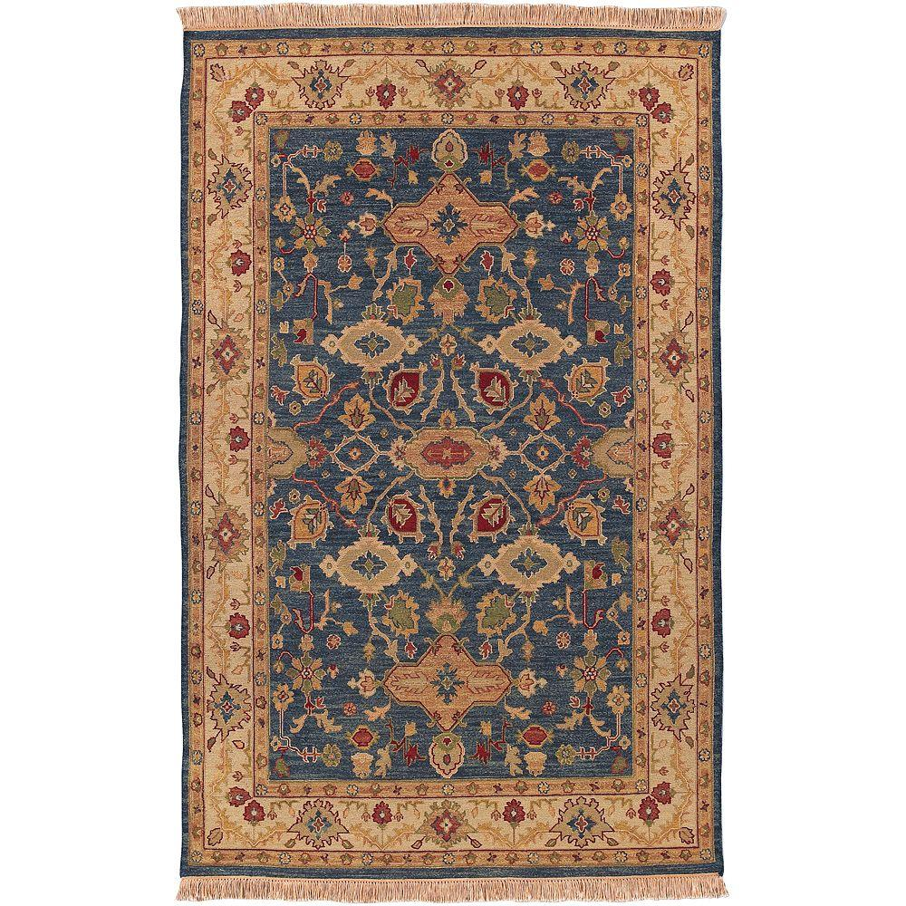 Artistic Weavers Rochester Blue 10 ft. x 14 ft. Area Rug