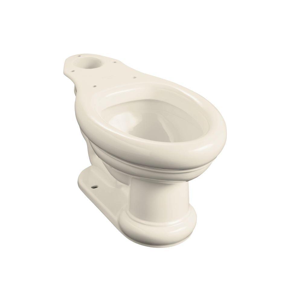 Kohler Revival Elongated Toilet Bowl Only In Almond K 4355