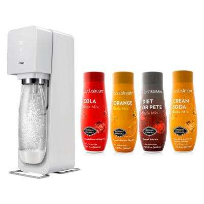Source Home Maker Starter Kit with Variety Pack Soda Flavors