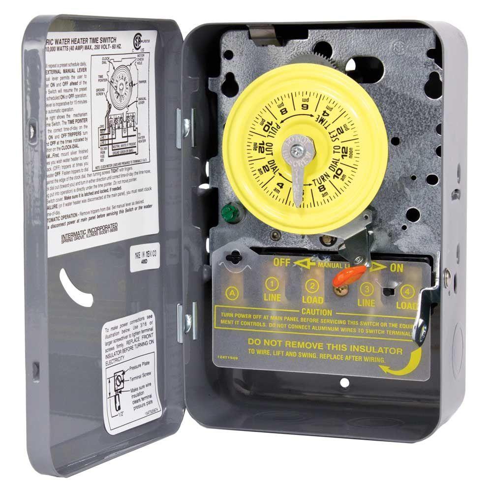 Intermatic Mechanical Timer Wiring Diagram Intermatic PB900 ...