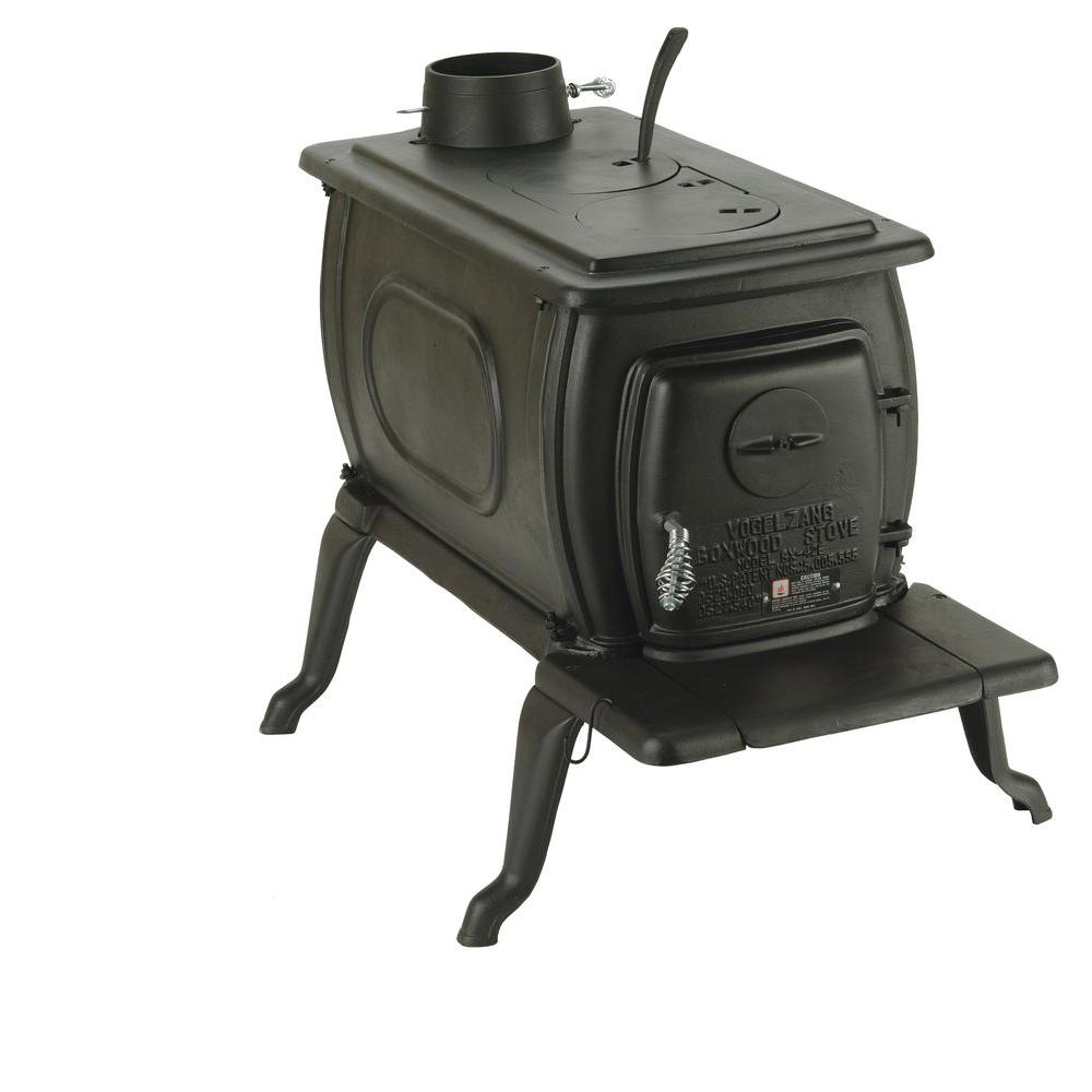 Vogelzang Boxwood 1200 sq. ft. Deluxe Cast Iron Wood-Burning Stove