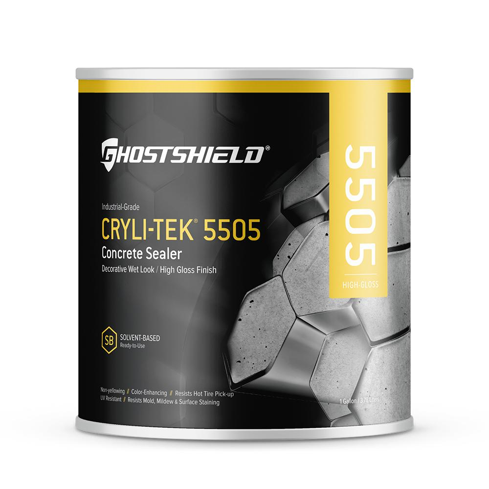 Ghostshield 1 gal. Concrete and Masonry Water Repellent with High Gloss Wet Look Finish