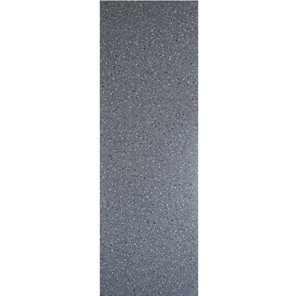 TrafficMASTER Allure Commercial 12 in. x 36 in. Confetti Dark Grey Vinyl Flooring (24 sq. ft. / case)