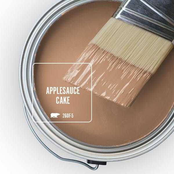 Reviews For Behr Marquee 1 Gal 260f 5 Applesauce Cake Satin Enamel Exterior Paint Primer 945401 The Home Depot