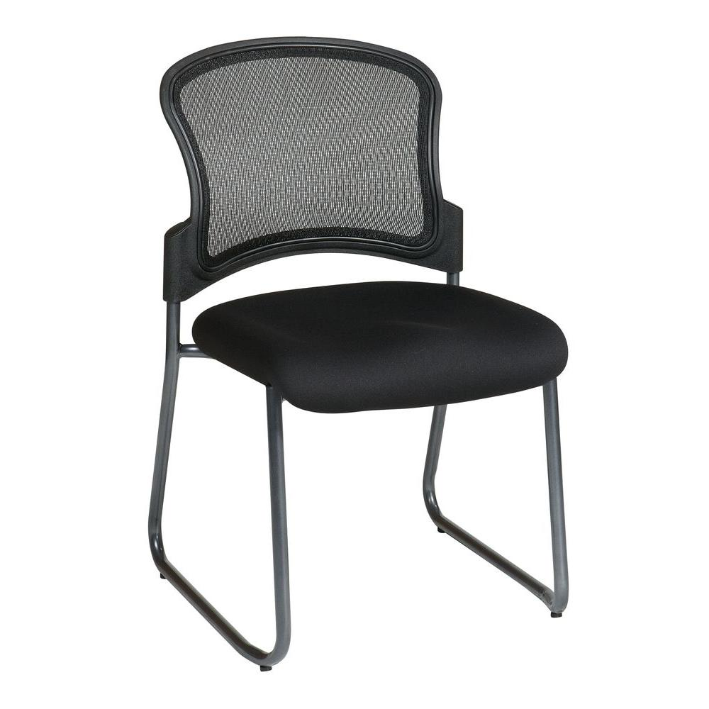 Coal FreeFlex Gliding Visitor Office Chair
