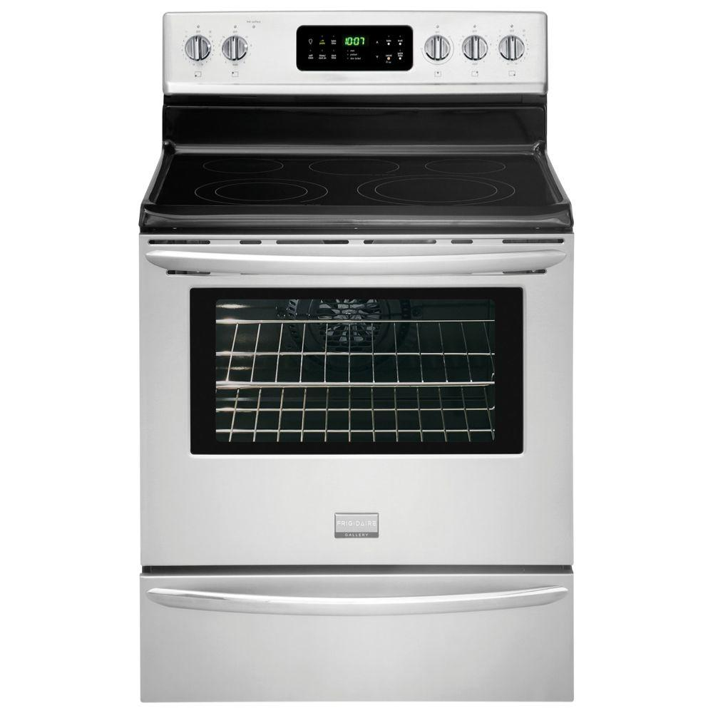 Frigidaire Gallery 5.7 cu. ft. Electric Range with Self-Cleaning Convection Oven in Stainless Steel