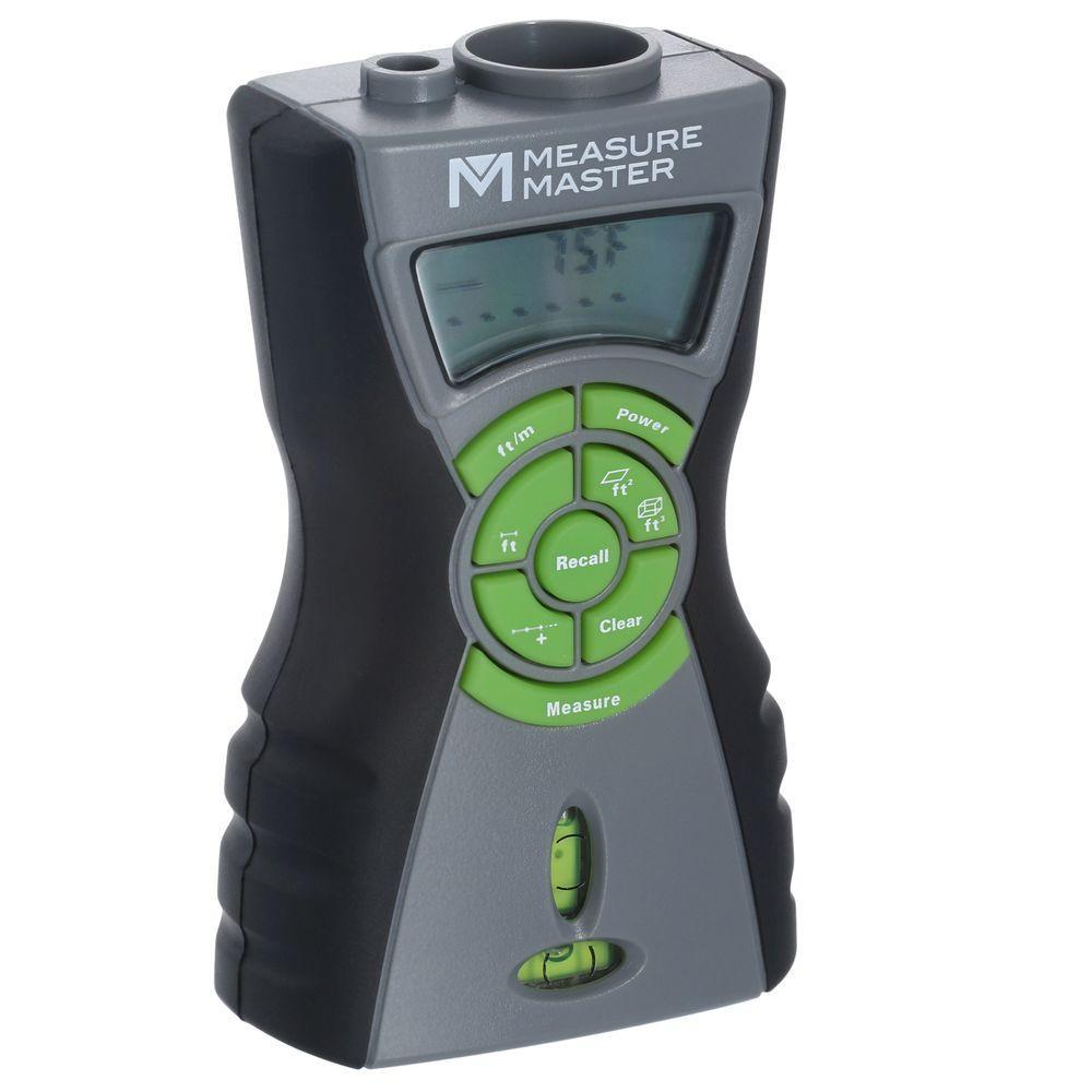 Measure Master 45 ft. Ultrasonic Distance Estimator with ...