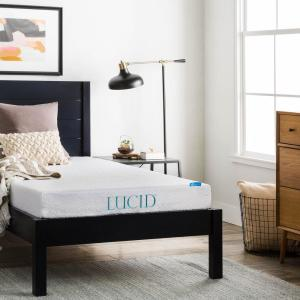 6 in. Twin XL Dual Layer Gel Memory Foam Mattress