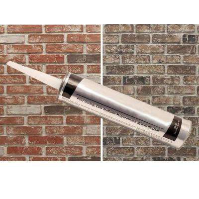 Old Town/Chestnut 12 in. x 3 in. x 3 in. 32 sq. ft. Caulk Installation Kit