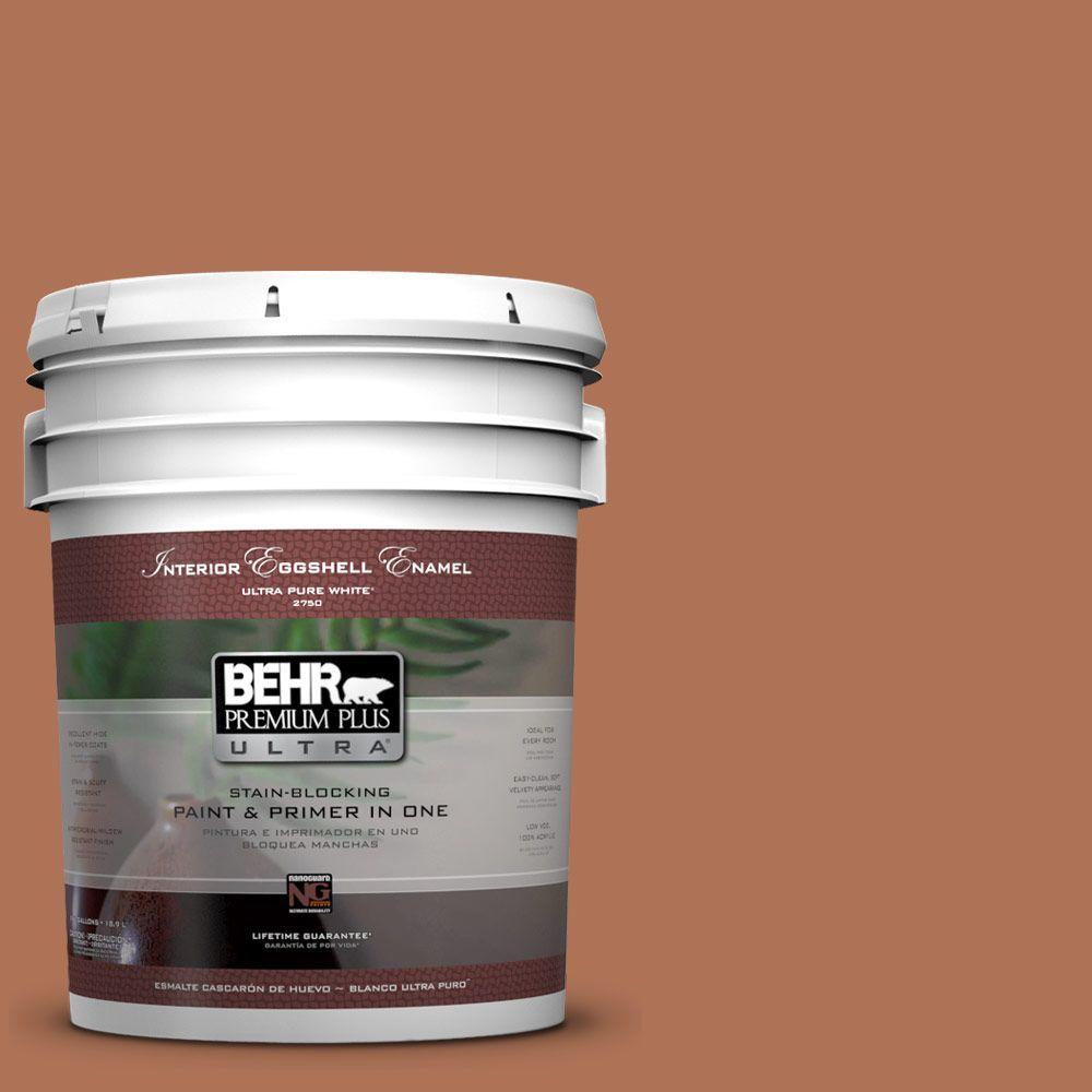 BEHR Premium Plus Ultra 5-gal. #PPU3-15 Glazed Pot Eggshell Enamel Interior Paint
