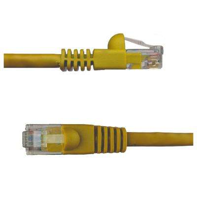 1 ft. Cat6 Snagless Unshielded (UTP) Network Patch Cable, Yellow