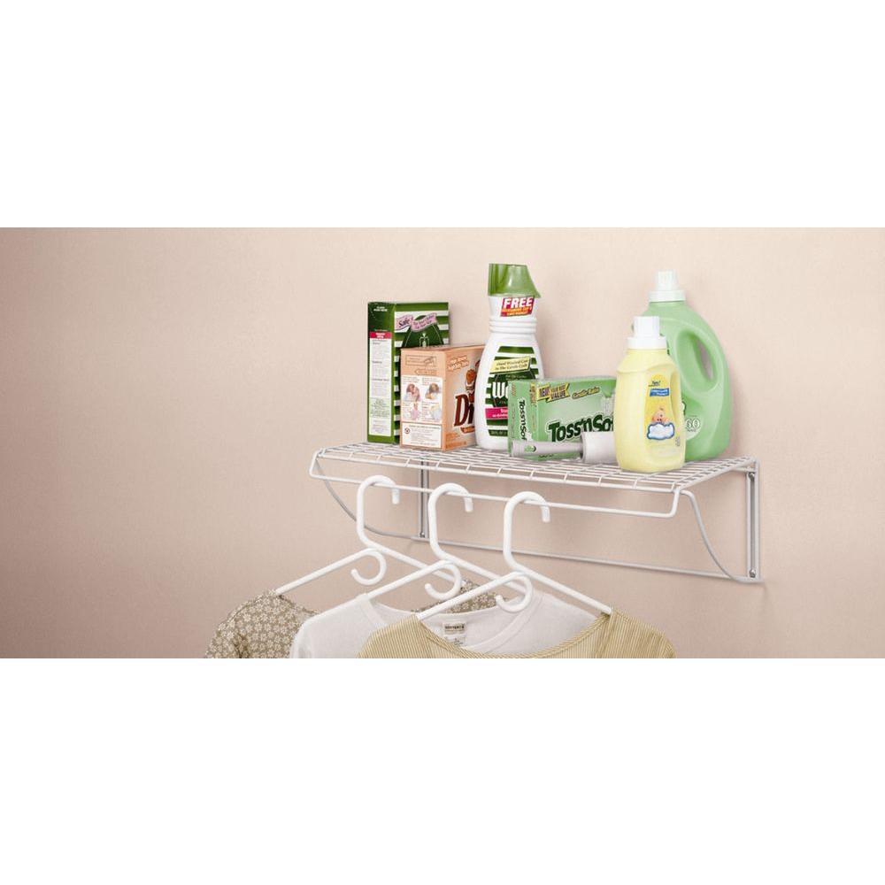 ClosetMaid Medium Stack /& Hang Shelf Organizer Laundry