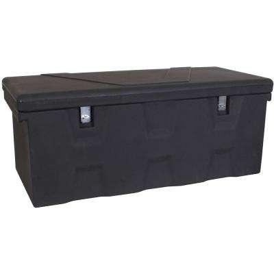 44 in. Black Polymer All Purpose Chest