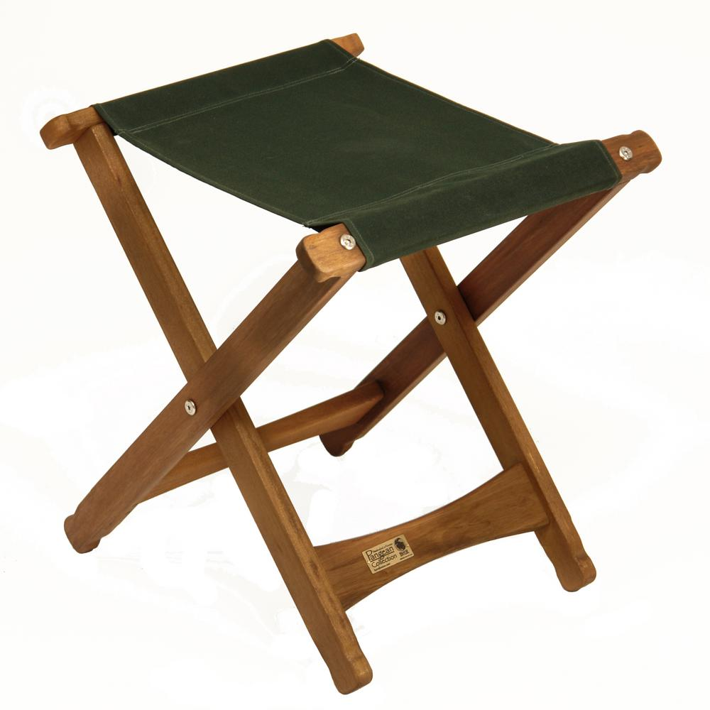 Swell Byer Of Maine Keruing Wood Green Folding Stool Pabps2019 Chair Design Images Pabps2019Com