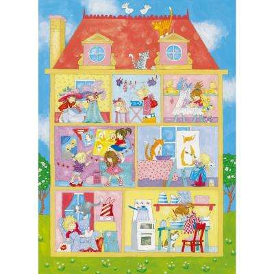 100 in. x 72 in. Its a Girls World Wall Mural