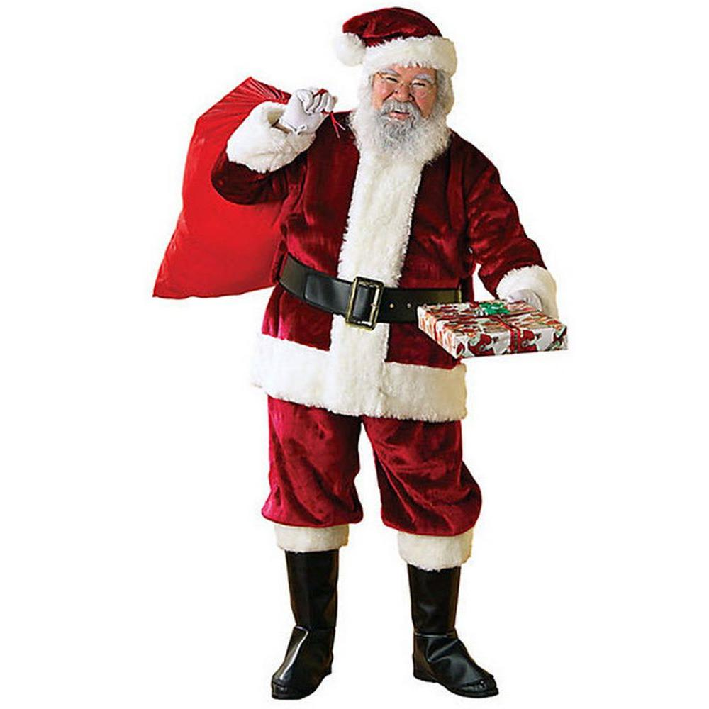 Extra Large Crimson Regency Santa Suit Costume, Adult Uni...