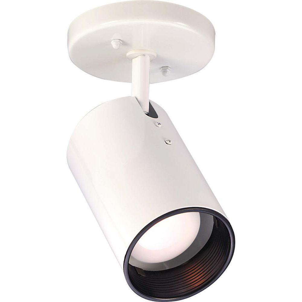 Tony 1-Light White Flush Mount