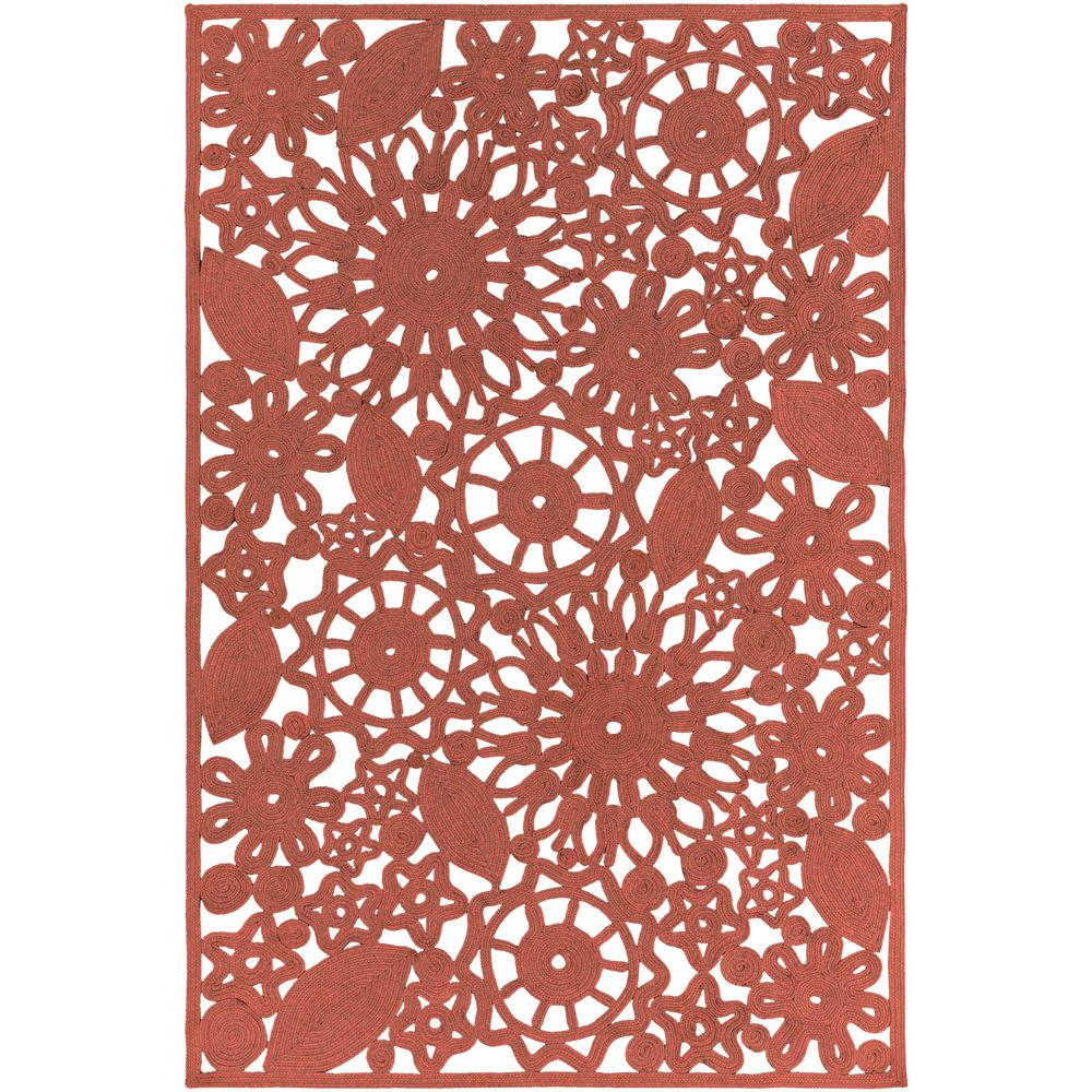 Bright Outdoor Area Rugs: Artistic Weavers Cleome Bright Red 5 Ft. X 8 Ft. Indoor
