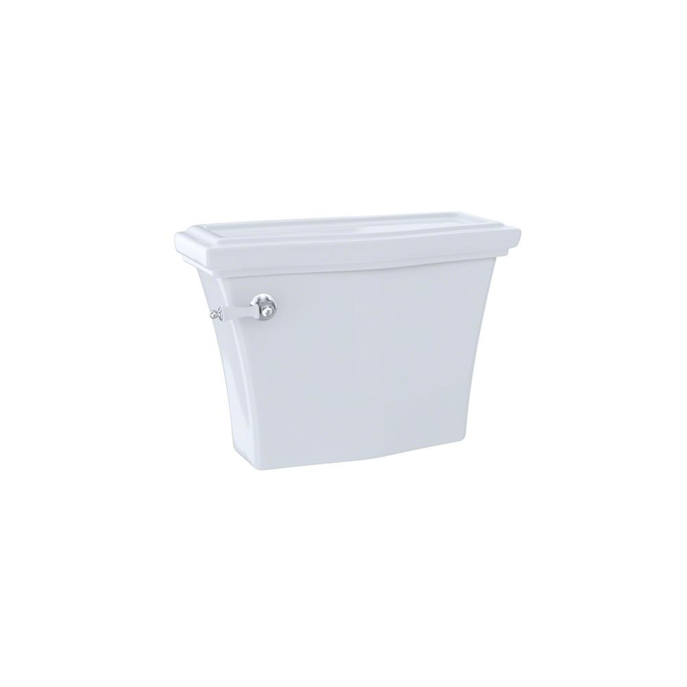 Clayton 1.6 GPF Single Flush Toilet Tank Only in Cotton White