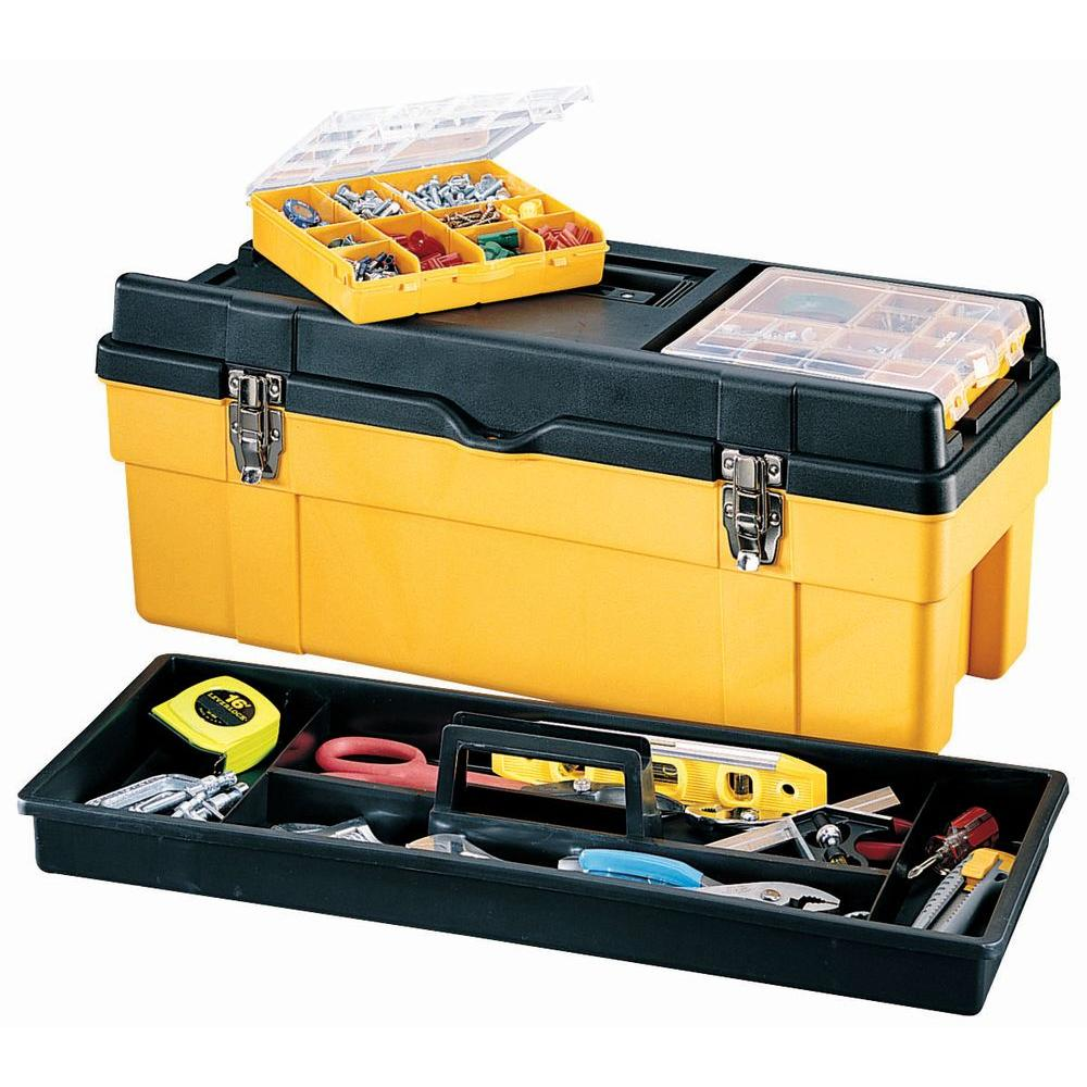 Stack-On Deluxe Professional 26 in. Tool Box