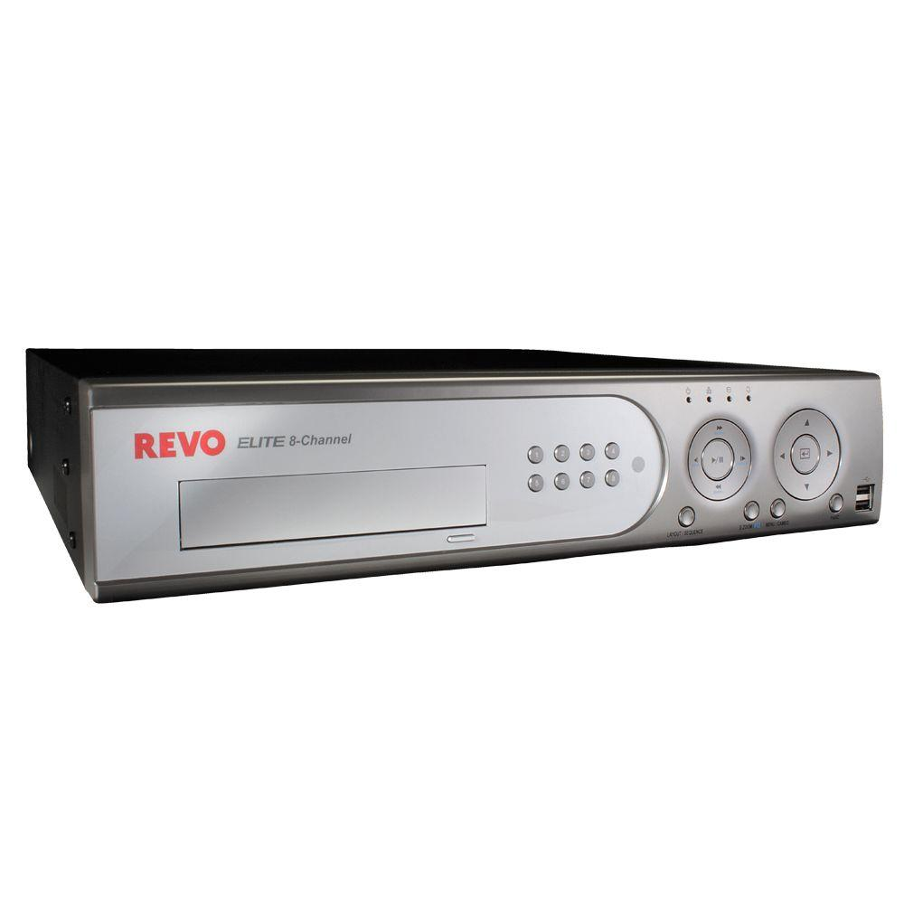 Revo 8-Channel 1 TB Hard Drive DVR with Remote Viewing-DISCONTINUED