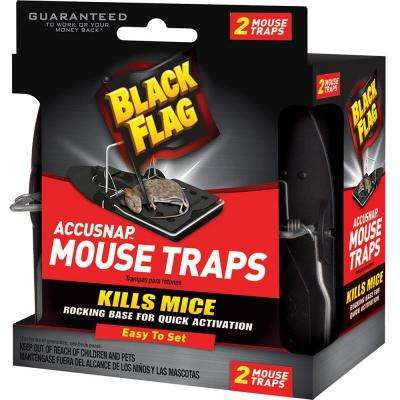 Plastic Snap Mouse Trap (2-Pack)