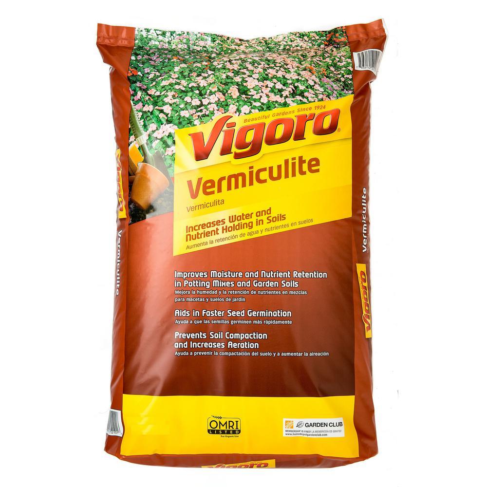 Vigoro 8 Qt. Organic Vermiculite Soil Amendment