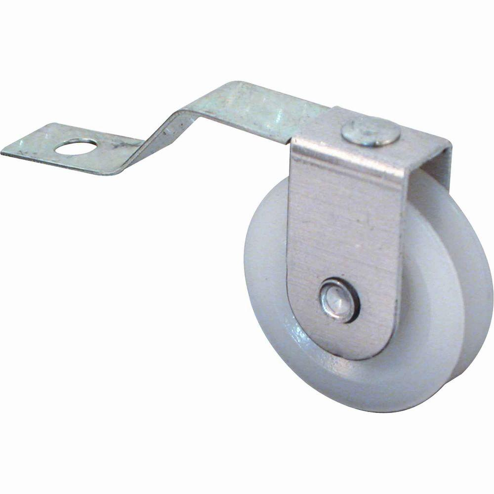 1 in. Sliding Screen Door Rollers with 1-3/4 in. Offset Tension