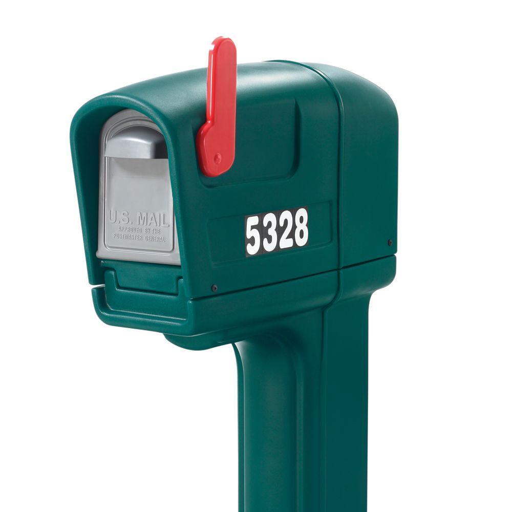 Step2 MailMaster Trimline Standard Mailbox, Spruce