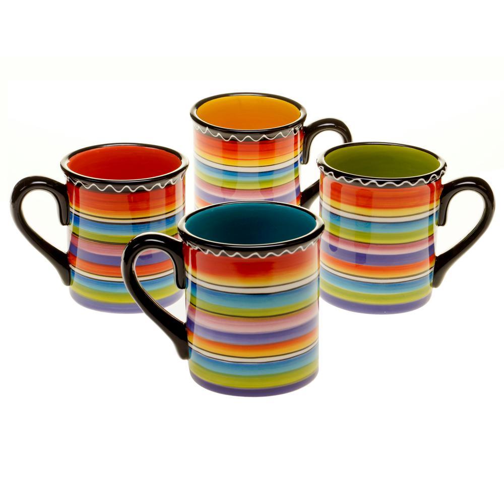 Tequila Sunrise 16 oz. Mug (Set of 4)