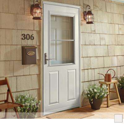 400 Series 1/2 View Self-Storing Storm Door
