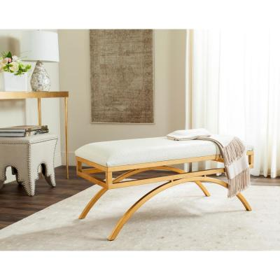 Moon Clear/Gold Bench