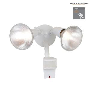 All Pro 180 Degree White Outdoor Motion Activated Sensor