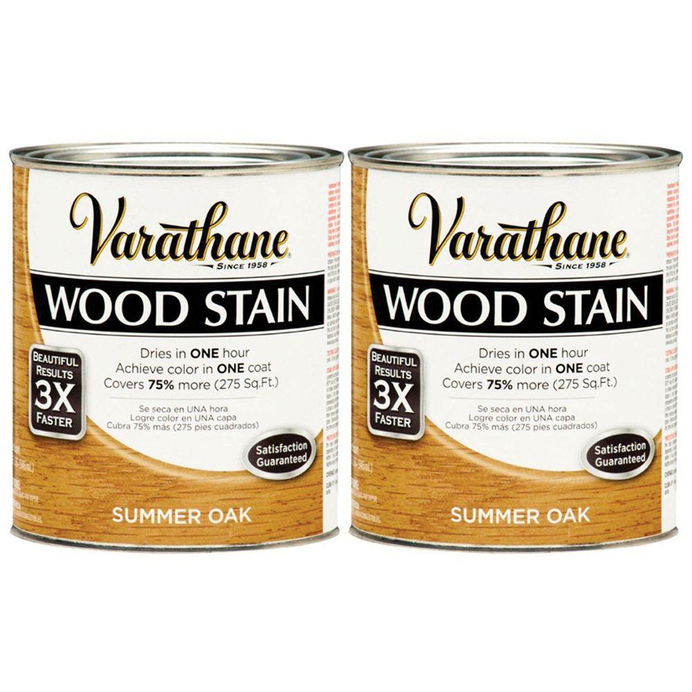 Varathane 1 Qt. Summer Oak Wood Stain (2-Pack)-DISCONTINUED